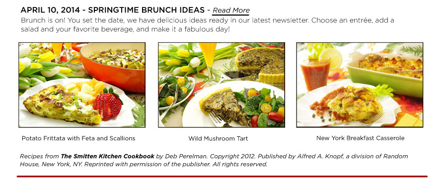 Springtime Brunch Ideas